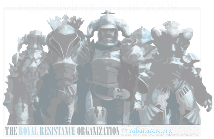 RABANASTRE.ORG; the royal resistance organization